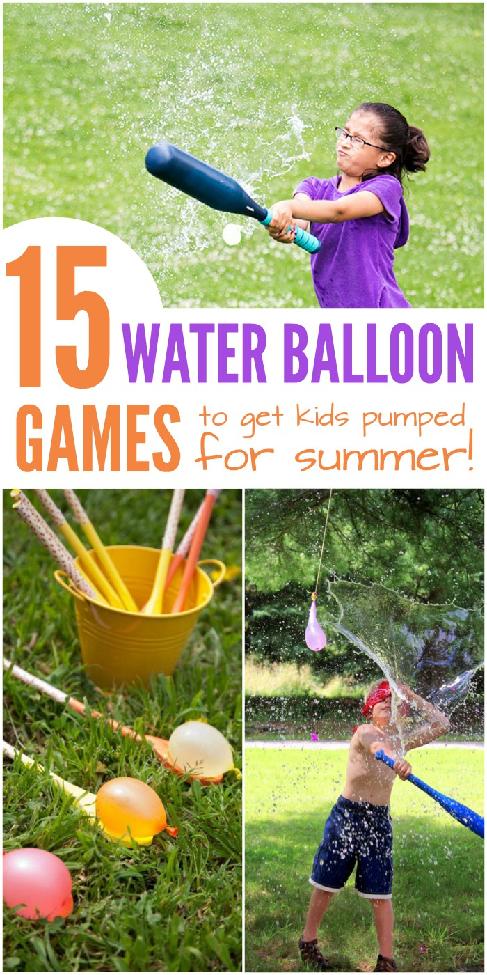 15 Water Balloon Games to Get Kids Excited About Summer