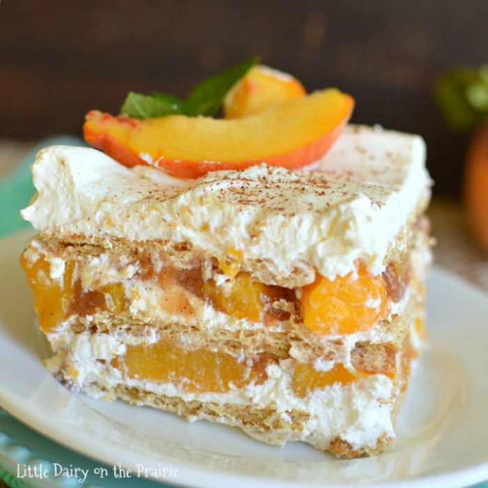 Peach Crumb Cake Recipe