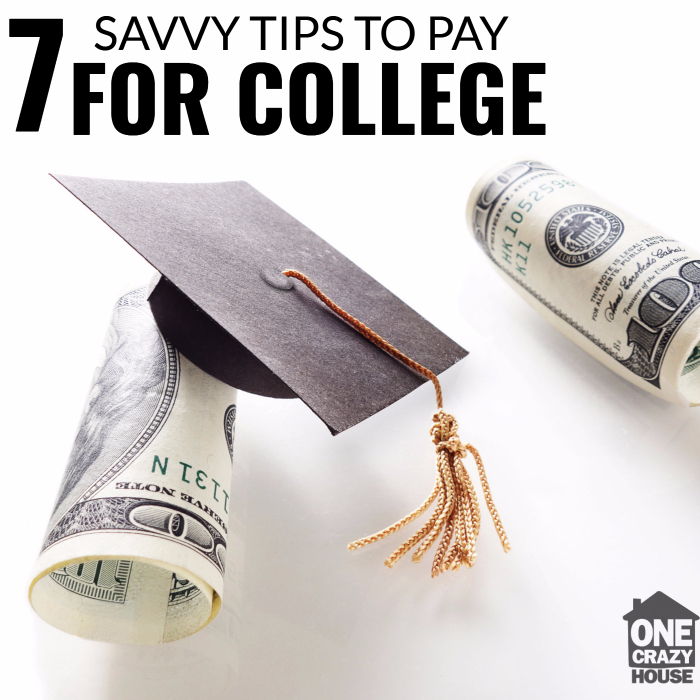 7 Savvy Tips to Pay for College Without Going Into Debt