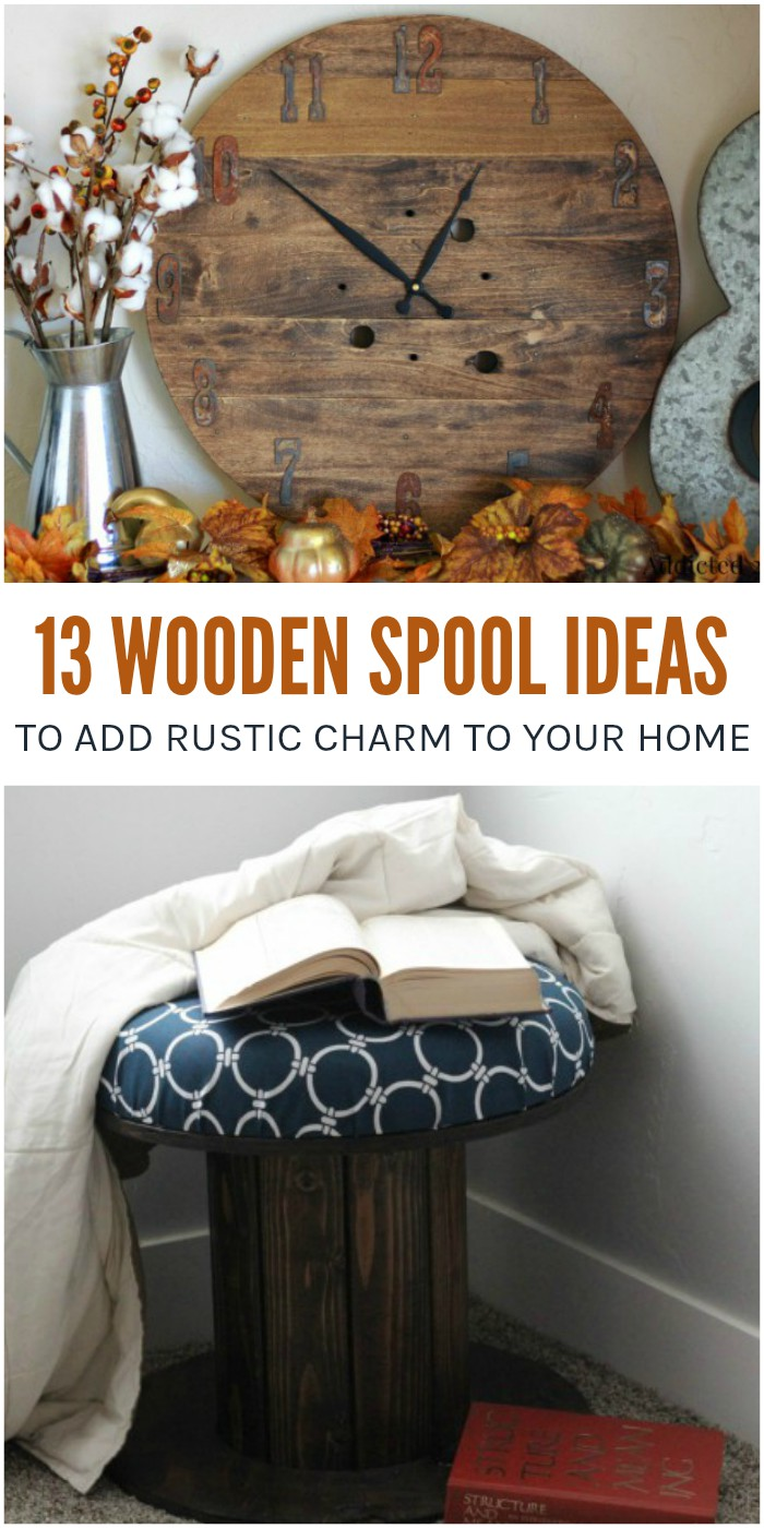 13 Wooden Spool Ideas to Add Rustic Charm to Your Space