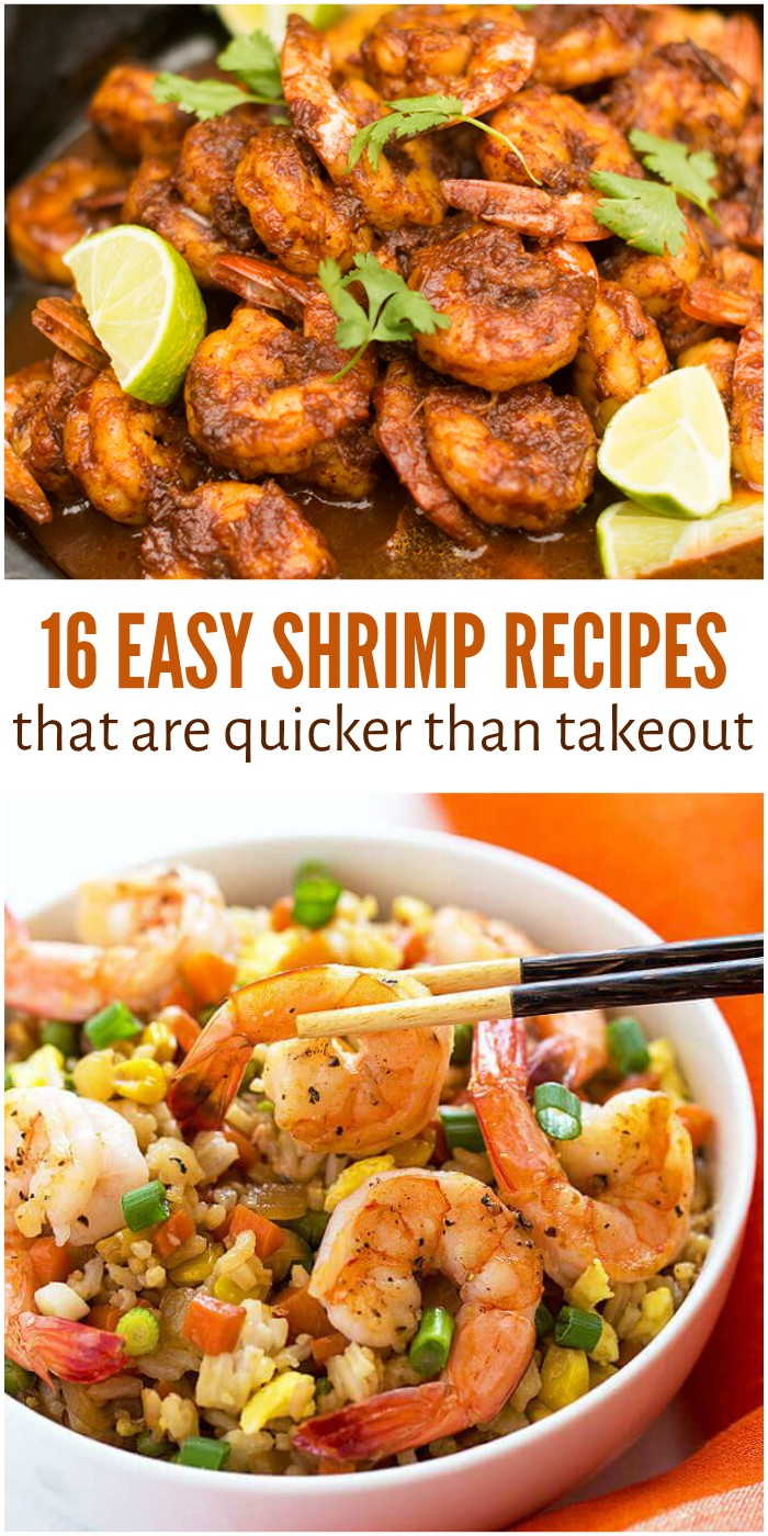 Easy Shrimp Recipes for Crazy Busy Weeknights