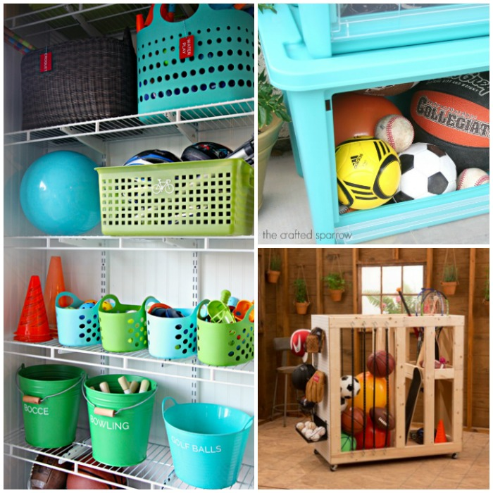 Backyard Toy Storage Ideas