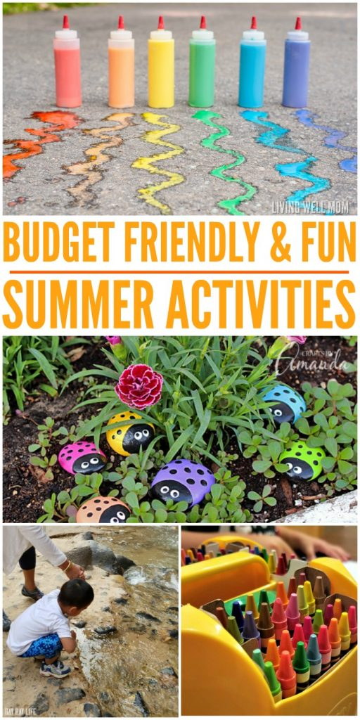 Budget Friendly & Fun Summer Activities that all kids will love and enjoy! #onecrazyhouse #summerfun #budgetfriendlysummeractivities