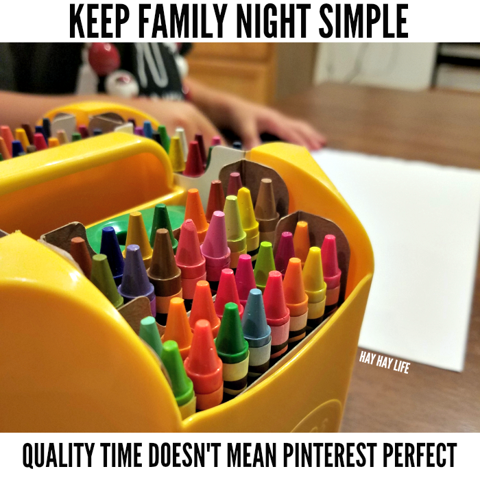 Keep Family Night Simple - Hay Hay Life