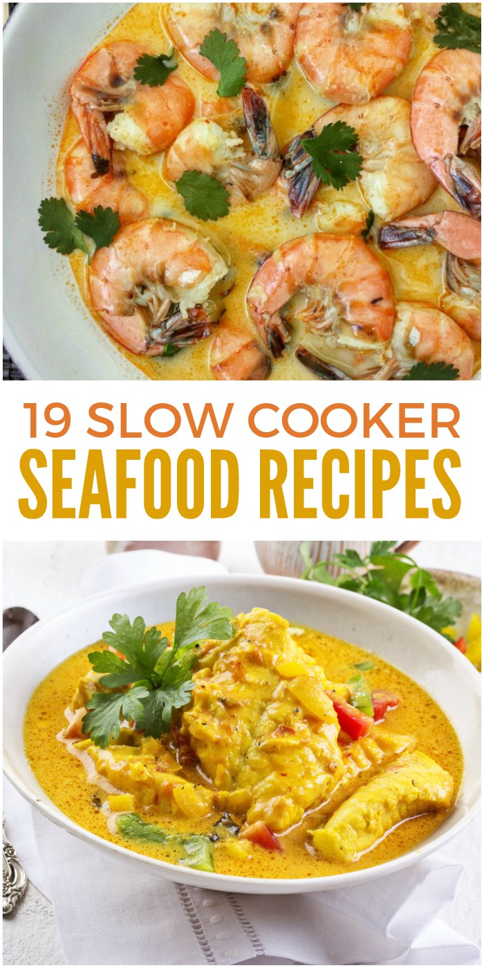 19 Slow Cooker Seafood Recipes to Make Dinner Easier