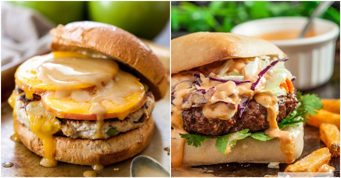 19 Insanely Good Burger Recipe Ideas You Have to Try at Least Once