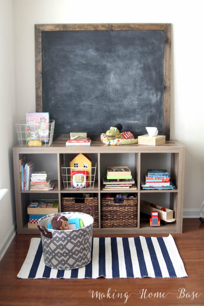 Kid Friendly Coffee Table Decor