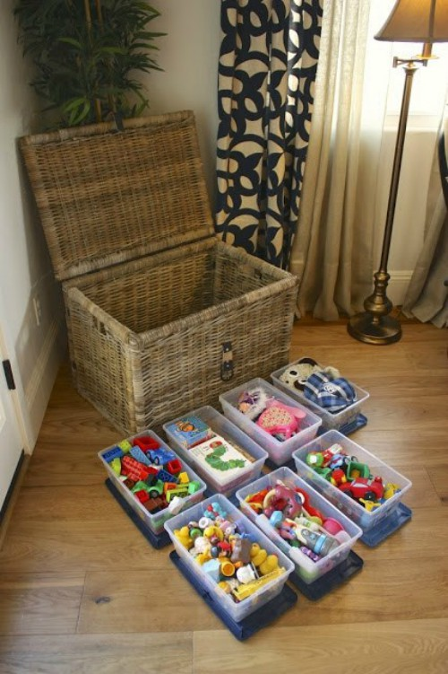toy chest organization