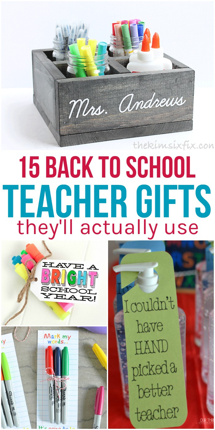 Classroom Keepsake Ideas ~ Back to school teacher gifts they ll actually use