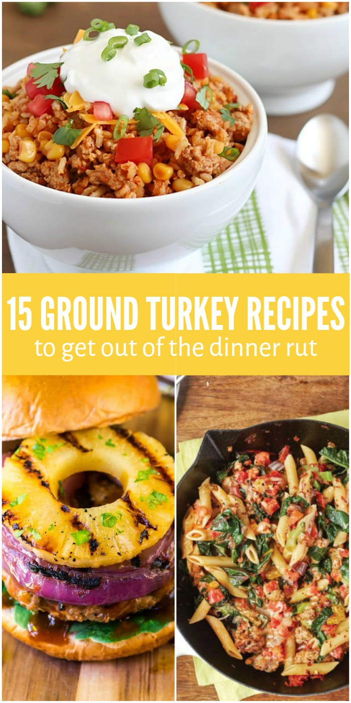 15 Ground Turkey Recipes to Get Out of the Dinnertime Rut