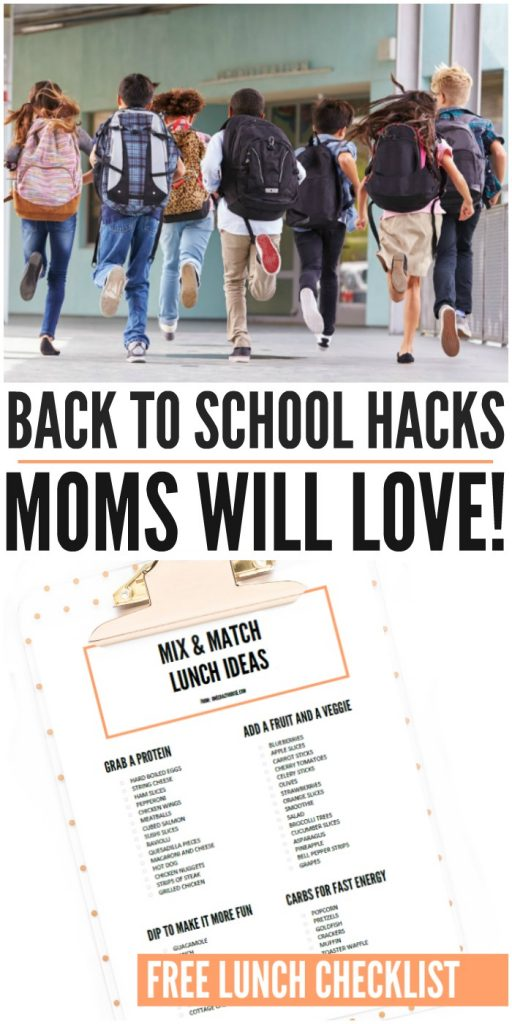 Back to School Hacks Moms Will Love