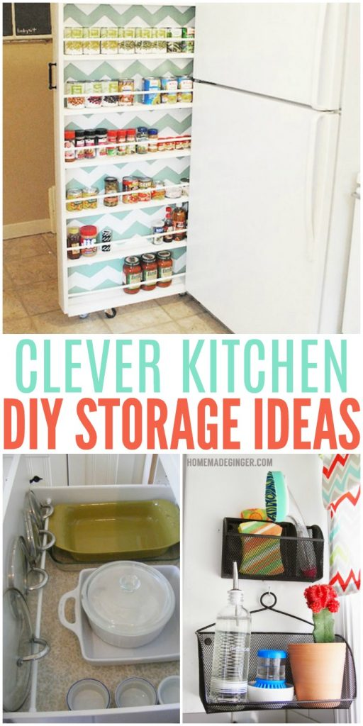 Charming Kitchen Storage Diy Part - 10: One Crazy House