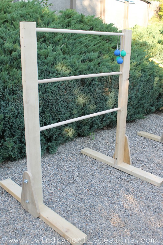 DIY Ladder Golf Tutorial by Twin Dragonflies Design