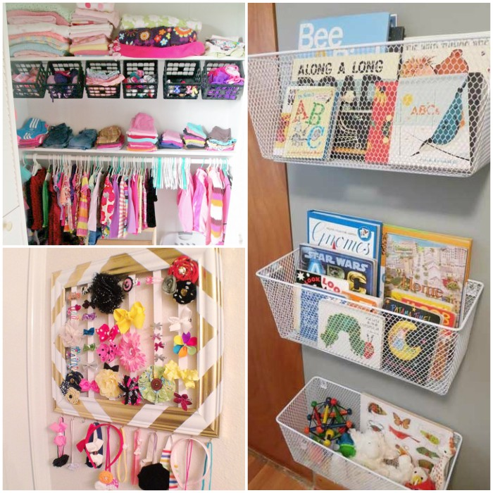 16 tricks to organize kid rooms on a budget for Kids room storage ideas