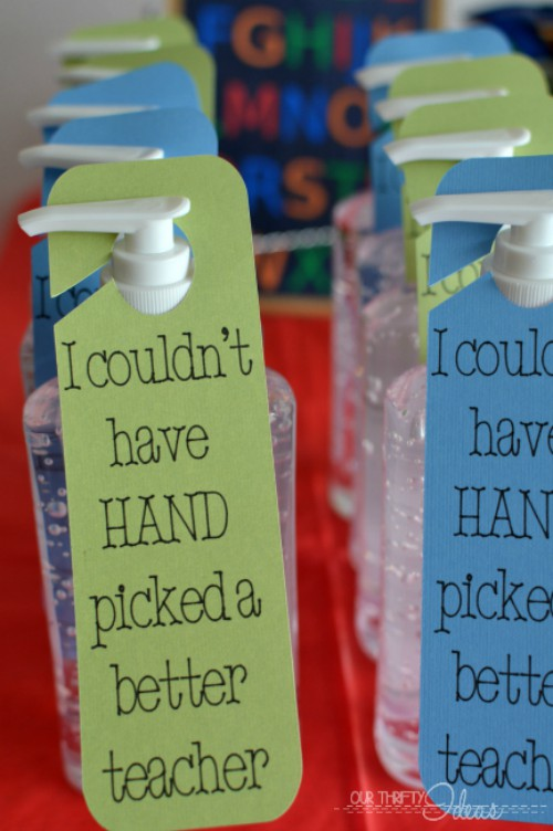 hand sanitizer gift