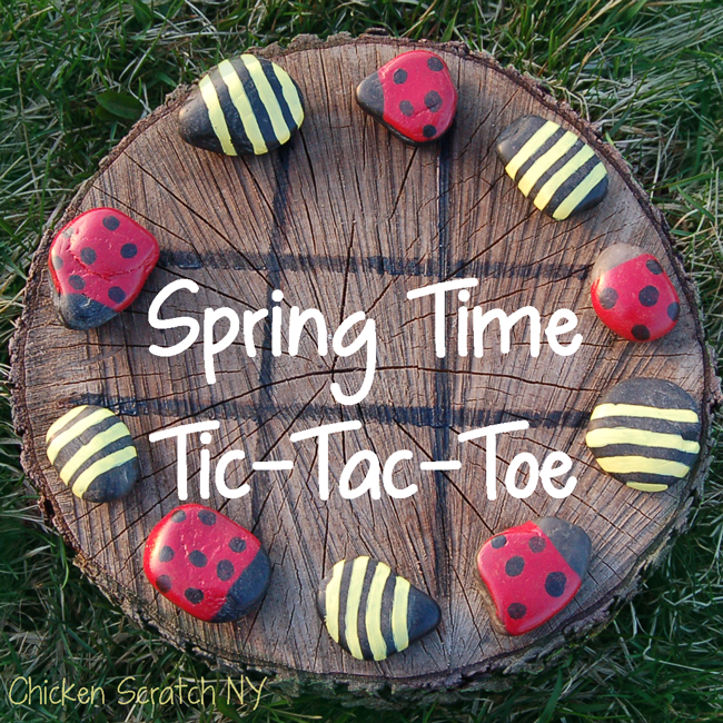 Spring Time Tic-Tac-Toes by Chicken Scratch NY