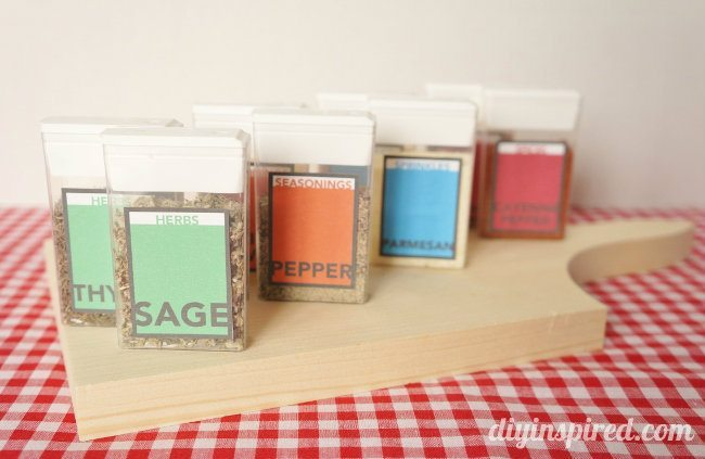 tic tac spice containers