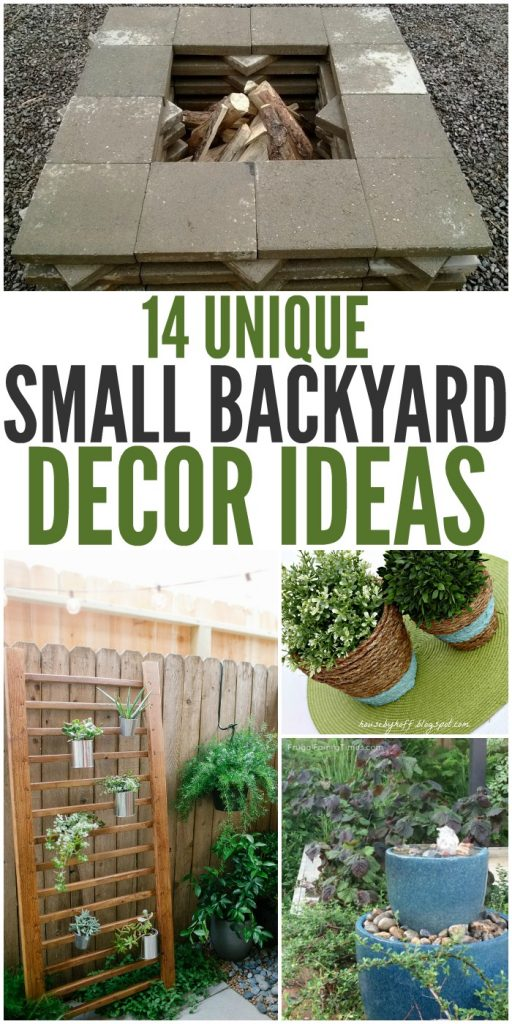 14 Unique Small Backyard Ideas To Add Character