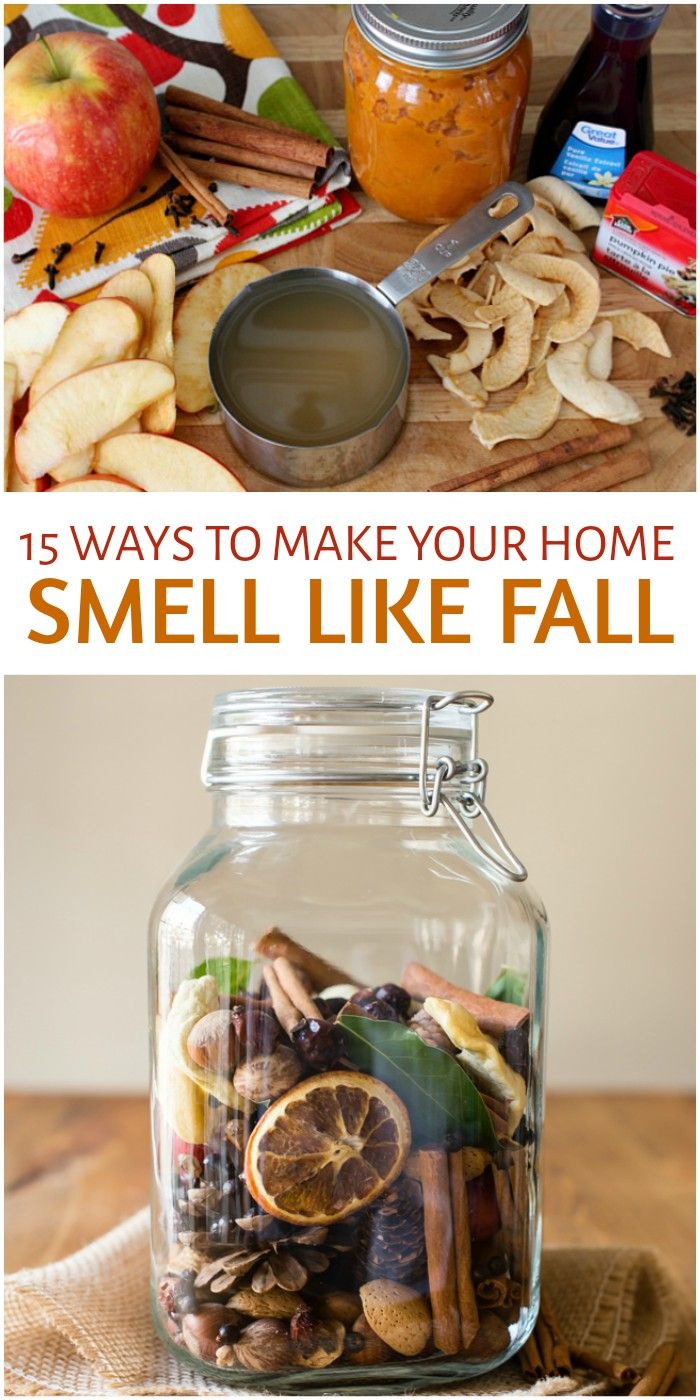 15 Ways To Make Your Home Smell Like Fall