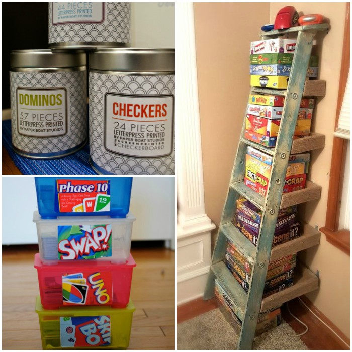 17 Board Game Storage Ideas To Streamline Family Game Night
