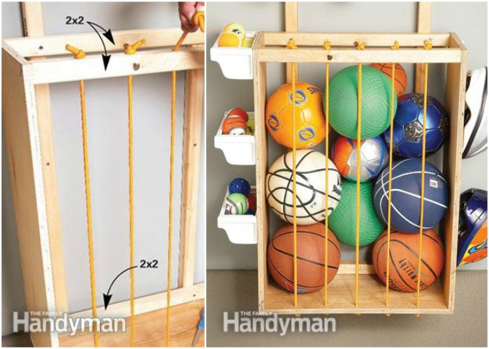Delightful If Youu0027re Not Afraid To Tackle A DIY Project, A Rolling Storage Cart  Provides Ample Storage For Absolutely Everything In Your Sports Arsenal.