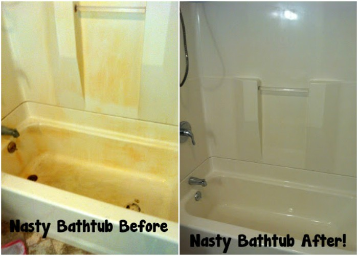 13 Simple Bathtub Cleaning Tips For Totally Gunky Tubs