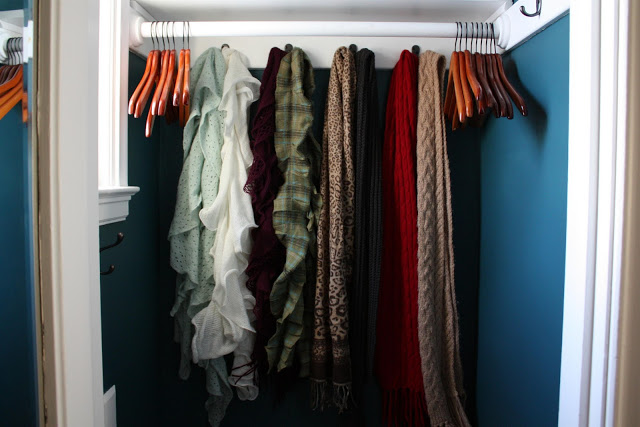Storing Shoes In Coat Closet