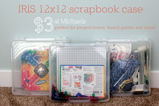 scrapbook cases