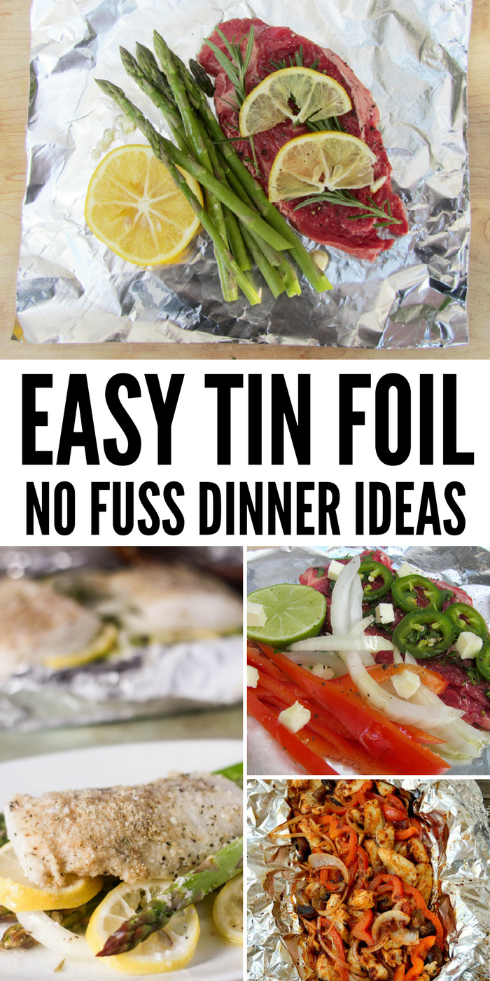 Tin Foil Packet Dinners