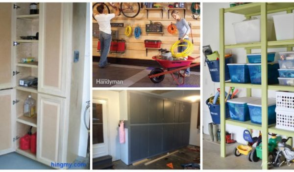 genius tutorials for diy garage cabinets