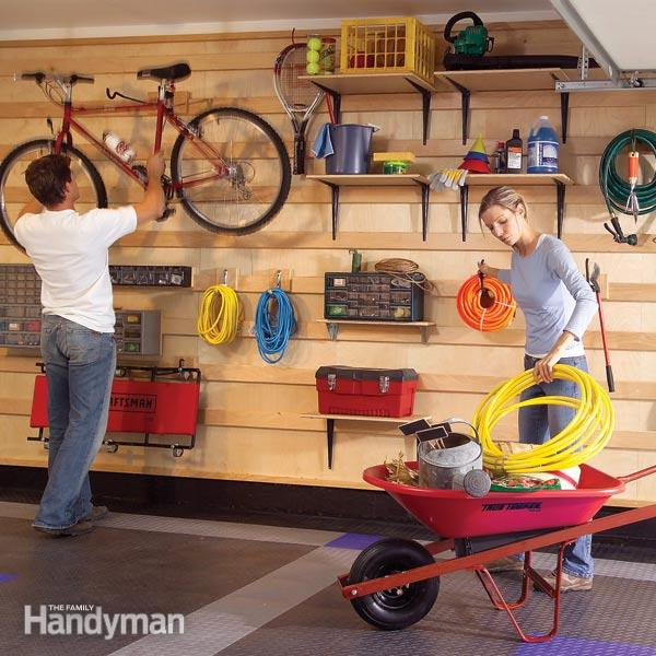 Garage Storage Tutorial by The Family Handyman