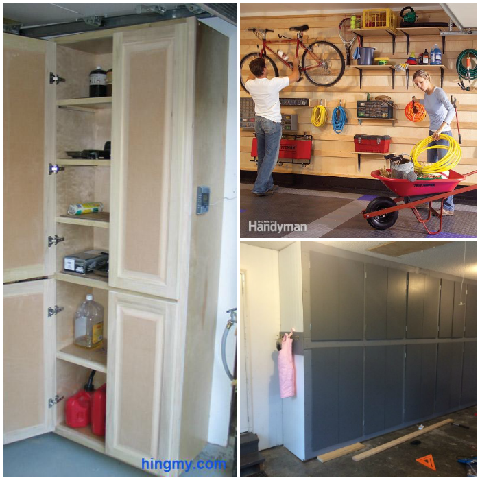 garage cabinet tutorials
