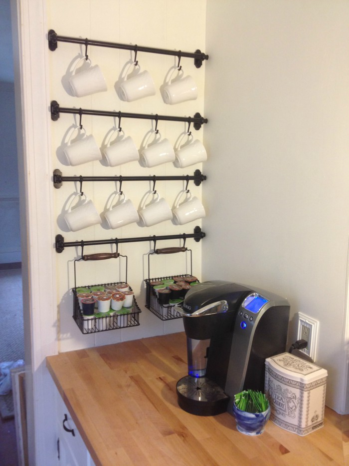 Exceptionnel This DIY Coffee Pod Storage Idea Can Be Easily Customized To Be Bigger Or  Smaller. You Can Even Add A Slot Or Two For Your Favorite Creamers.