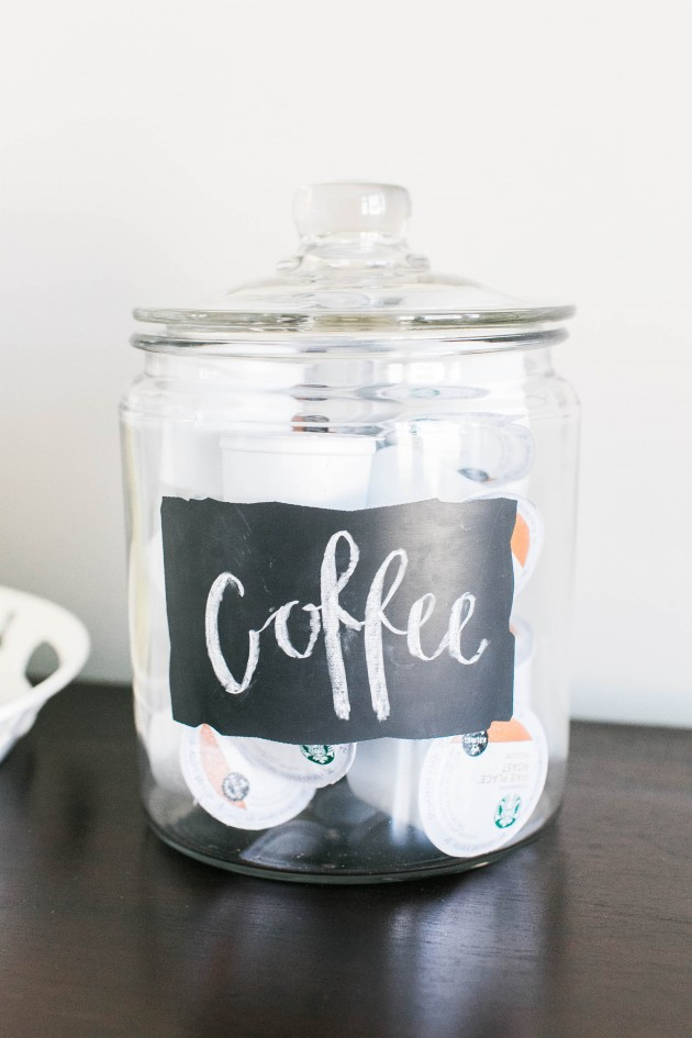 Superbe Coffee Pod Jar