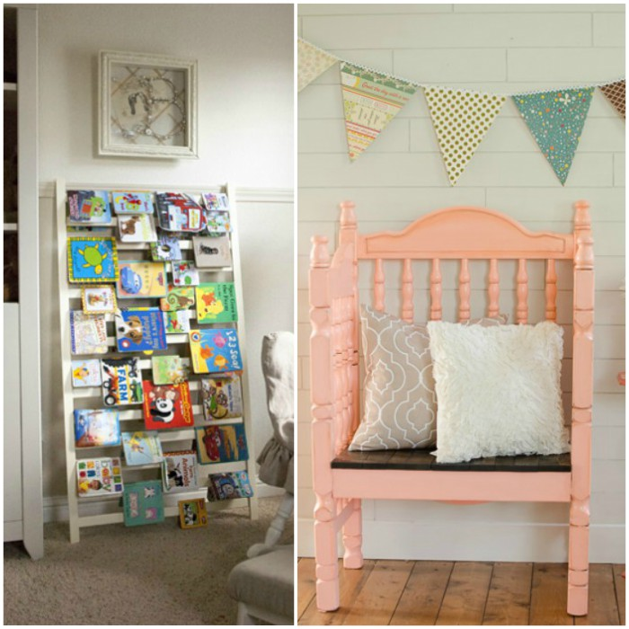 crib repurpose ideas