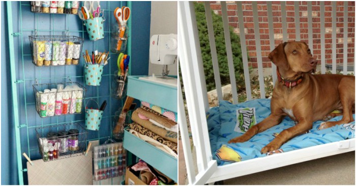 19 Crafty Things To Do With Old Cribs