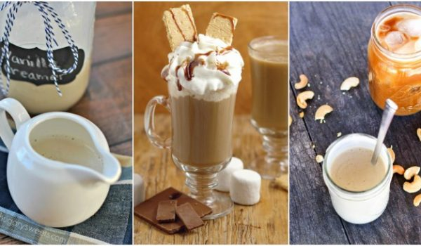 homemade coffee creamers feature