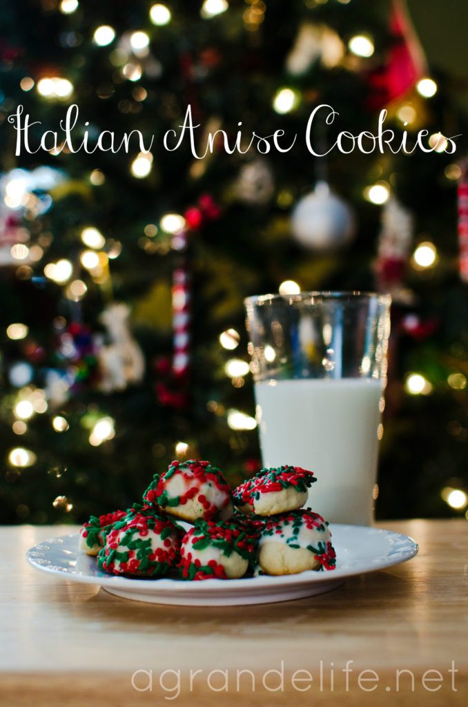 A Grande Life Italian Anise Cookies