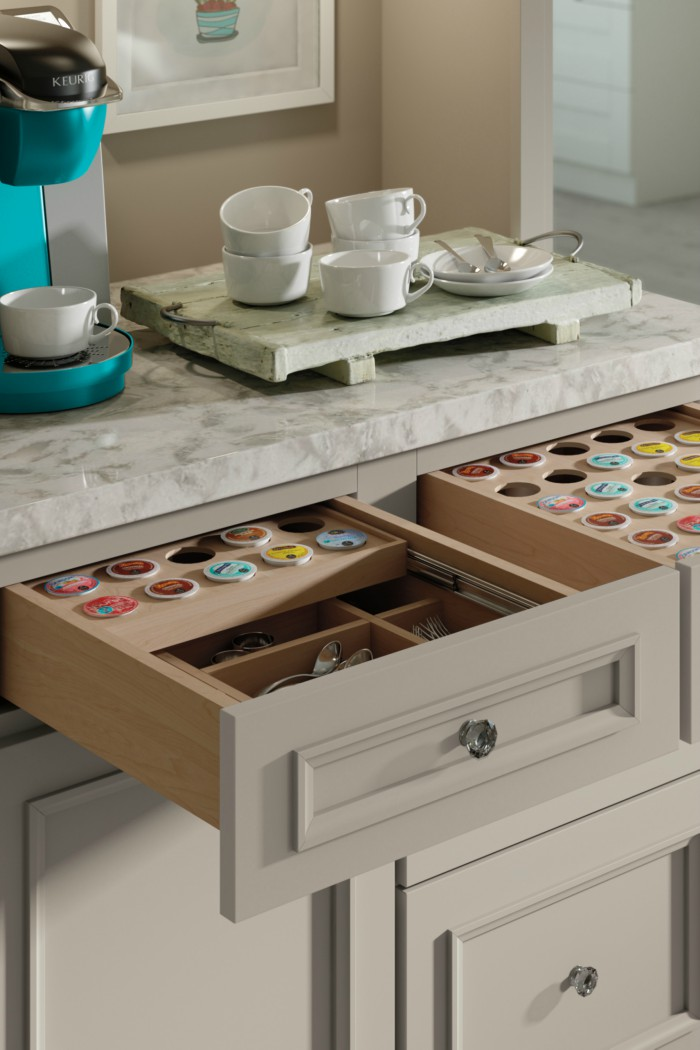 15 coffee pod storage ideas for k cup addicts. Black Bedroom Furniture Sets. Home Design Ideas