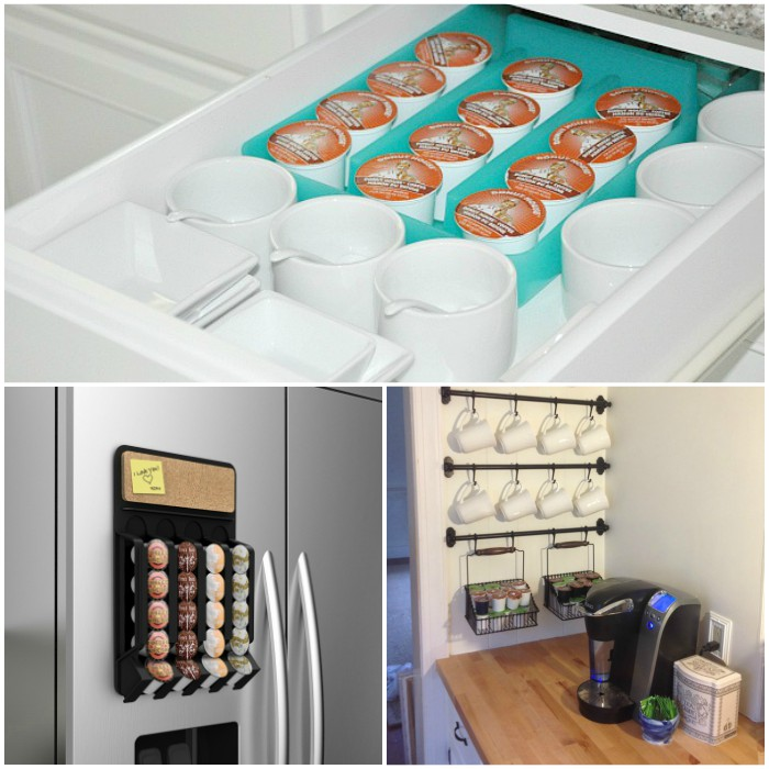 k-cup storage ideas