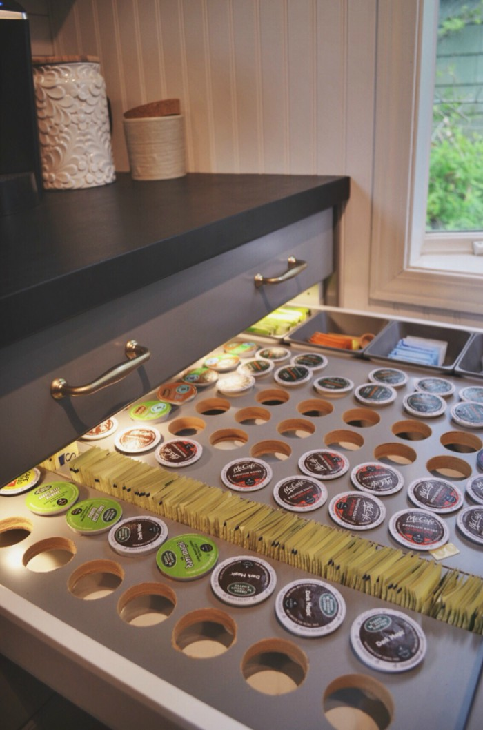 15 coffee pod storage ideas for k cup addicts for Ikea coffee cup holder