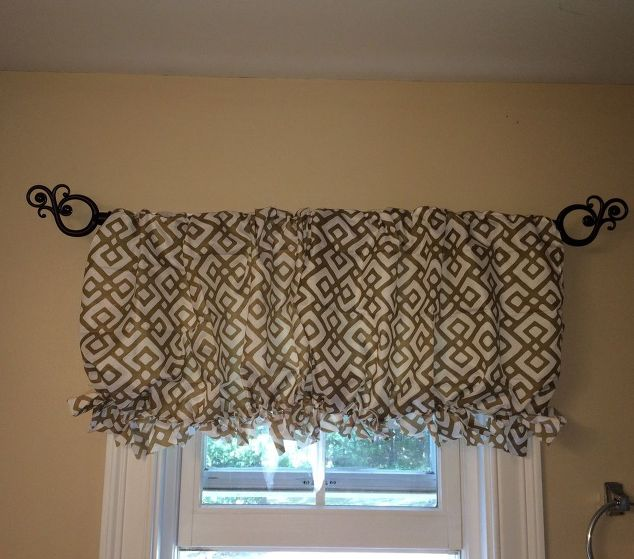 pillowcase valance