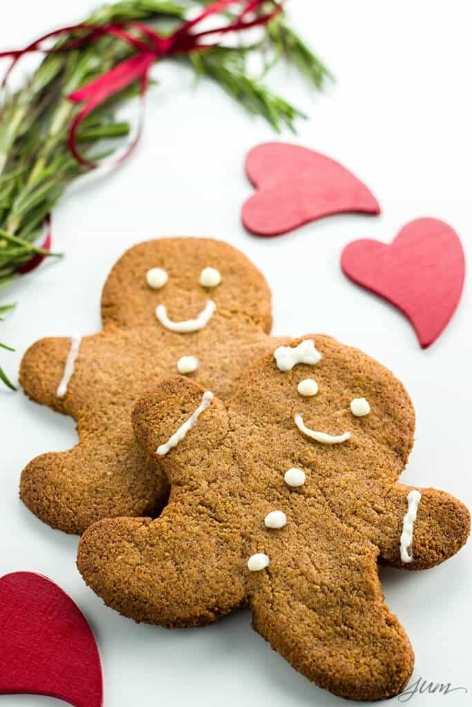 Guilt-Free Gingerbread Cookies