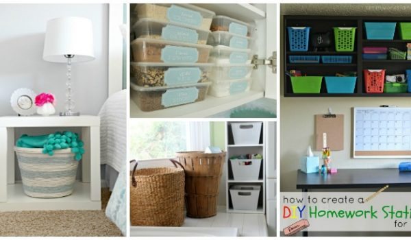 10 Must Try Dollar Store Organization Ideas