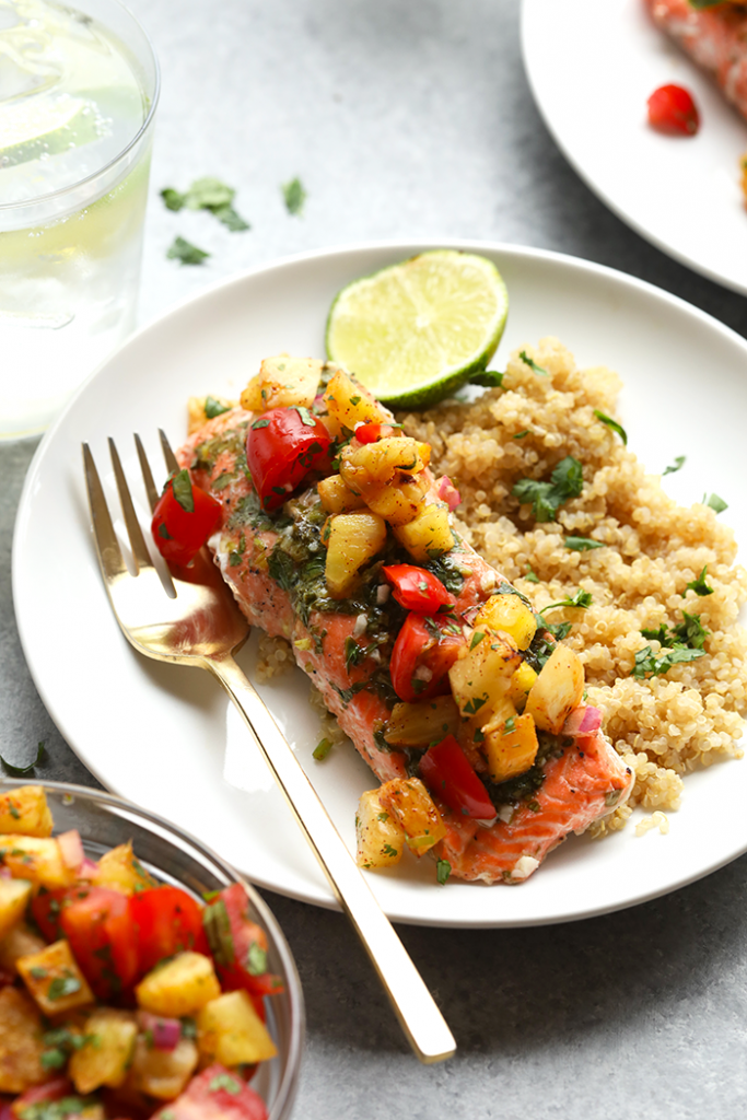 Fiesta Salmon by Fit Foodie Finds