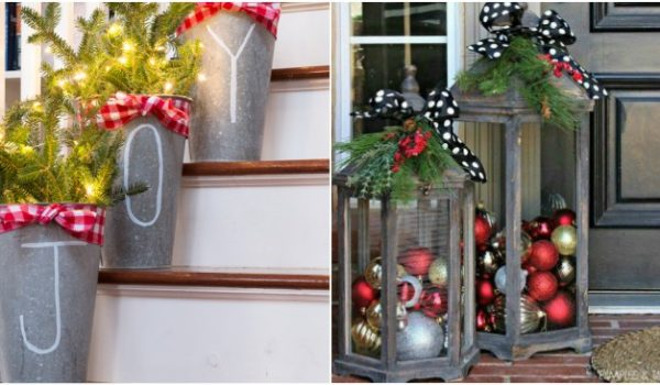 23 Front Porch Christmas Projects to Wow Your Neighbors