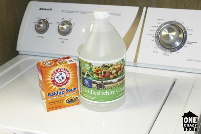 DIY Washing Machine Cleaning with Baking Soda