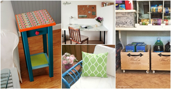GENIUS Furniture Makeovers and Upcycle Ideas to Add Charm To Your Home