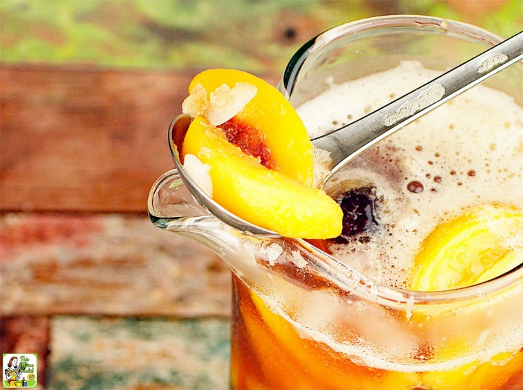 Mocktail recipes to serve at your next lunch brunch or for Easy fruit tea recipe