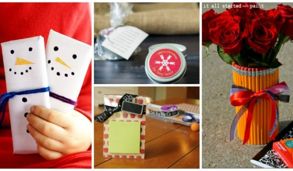 12 DIY Teacher Gifts For The Holidays
